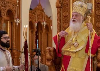 ''ΔΗΜΗΤΡΙΑ 2021'' 8η μέρα: Αρχιερατική Θεία Λειτουργία με τον Θεοφιλέστατο Επίσκοπο Ρωγών κ. Φιλόθεο
