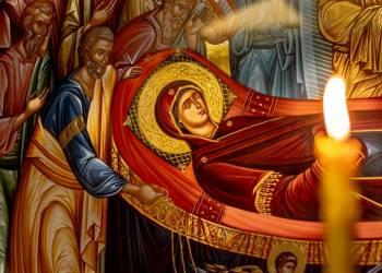 Τελευταίος Παρακλητικός Κανόνας προς τιμήν της Υπεραγίας Θεοτόκου - τα εγκώμια της Παναγίας