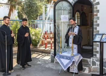 Ιερές Ακολουθίες στο Παρεκκλήσιο του Αμαξοστασίου Ο.ΣΥ. Αγίου Δημητρίου